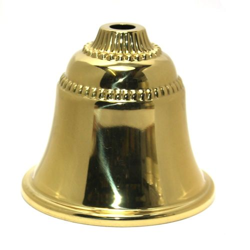 Solid Brass Beaded Cup Polished And Lacquered